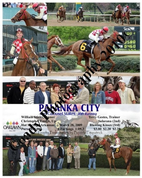 PALANKA CITY  -  The Carousel Stakes  30th Running