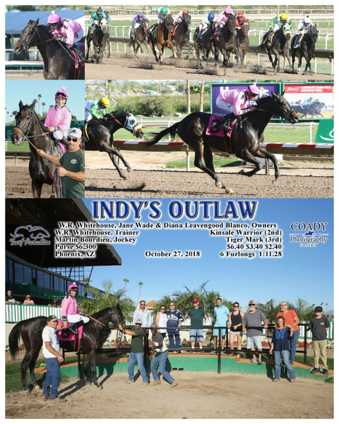INDY'S OUTLAW - 102718 - Race 06 - TUP