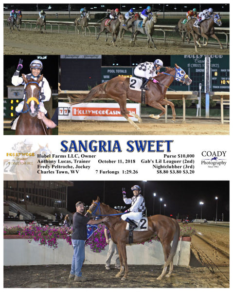 SANGRIA SWEET - 101118 - Race 08 - CT