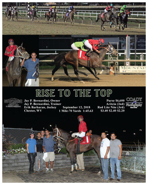 RISE TO THE TOP - 091218 - Race 06 - MNR