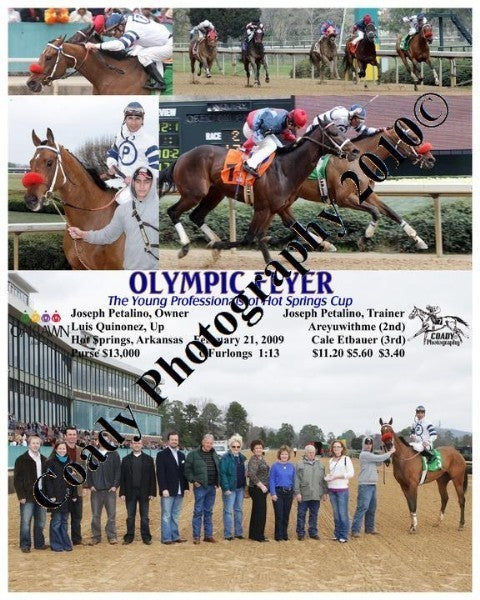 OLYMPIC FLYER  -  The Young Professionals of Hot S