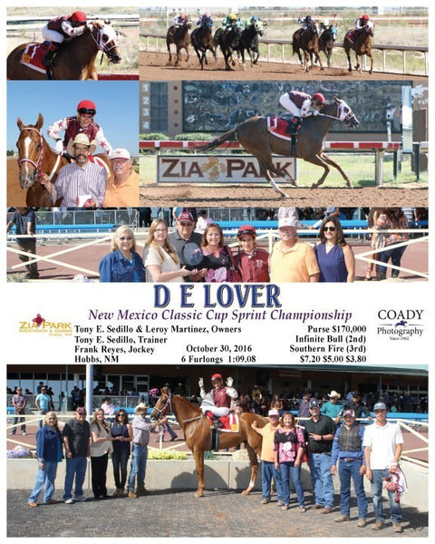 D E LOVER - 103016 - Race 04 - ZIA