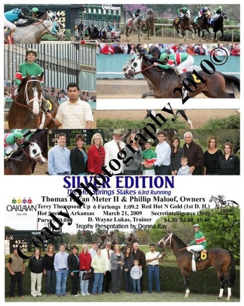 SILVER EDITION  -  The Hot Springs Stakes 63rd Run