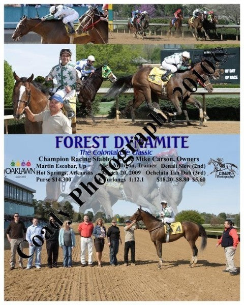 FOREST DYNAMITE  -  The Colonial Life Classic  -