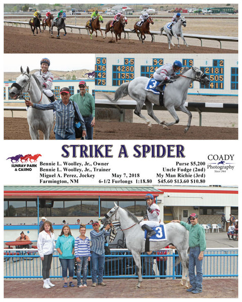 STRIKE A SPIDER - 050718 - Race 06 - SRP