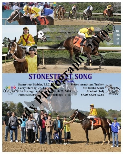 STONESTREET SONG  -  The Sparks Classic  -  3 22 2