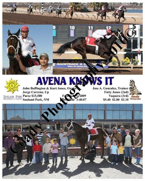 Avena Knows It  -    -  2 1 2009
