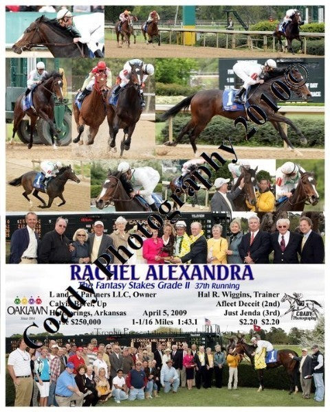 RACHEL ALEXANDRA  -  The Martha Washington Stakes