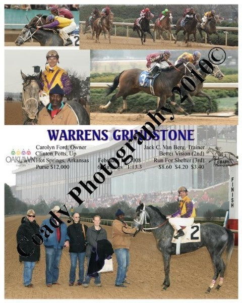 WARRENS GRINDSTONE  -    -  2 15 2008