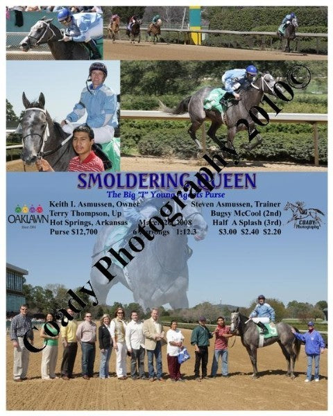SMOLDERING QUEEN  -  The Big  I  Young Agents Purs