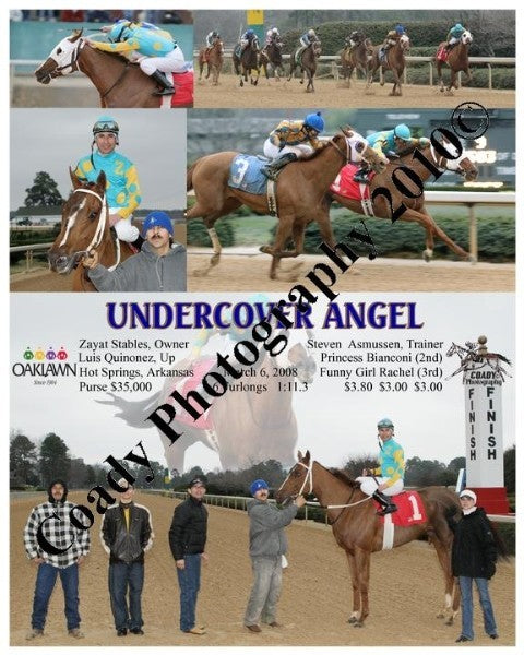 UNDERCOVER ANGEL  -    -  3 6 2008