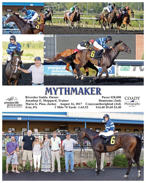 MYTHMAKER - 081617 - Race 03 - PID