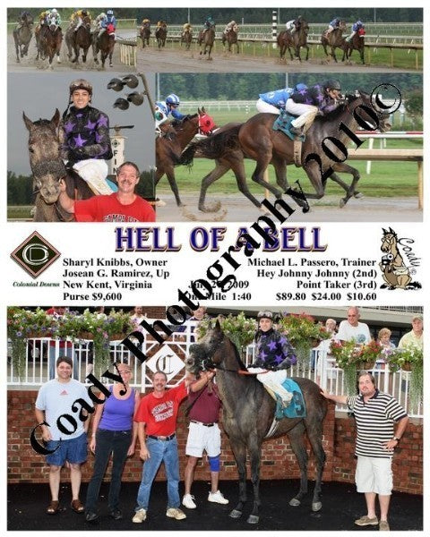 HELL OF A BELL  -    -  7 27 2009