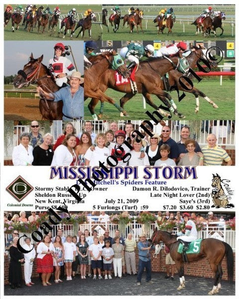 MISSISSIPPI STORM  -  D A Mitchell s Spiders Featu