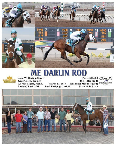 ME DARLIN ROD - 031117 - Race 08 - SUN