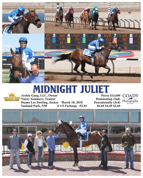 MIDNIGHT JULIET - 031818 - Race 1 - SUN
