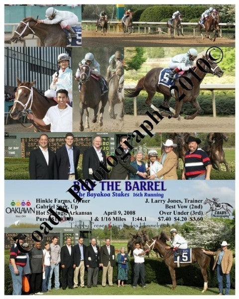 BUY THE BARREL  -  The Bayakoa Stakes  16th Runnin