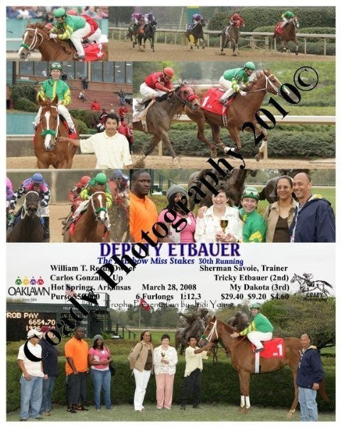 DEPUTY ETBAUER  -  The Rainbow Miss Stakes  30th R