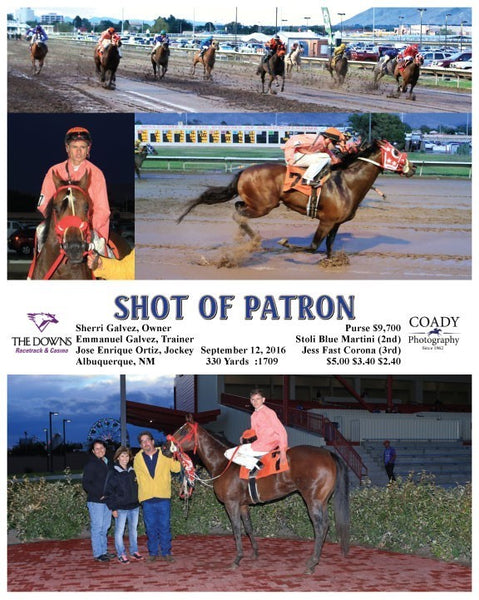 SHOT OF PATRON - 091216 - Race 03 - ALB