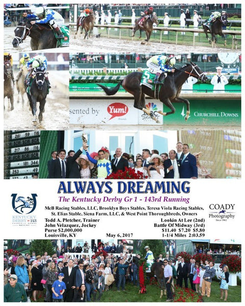 ALWAYS DREAMING  - 050617 - Race 12 - CD -  Composite