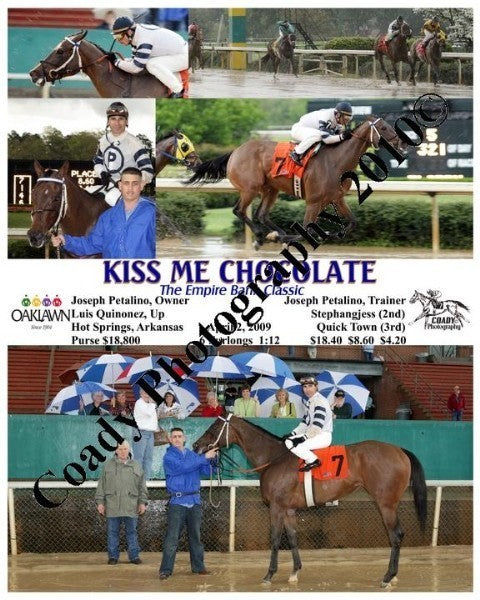 KISS ME CHOCOLATE  -  The Empire Bank Classic  -