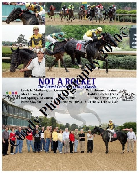 NOT A ROCKET  -  The Arvest Celebrity Group Classi