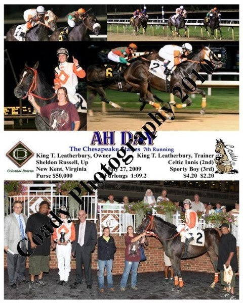 AH DAY  -  The Chesapeake Stakes 7th Running  -  7