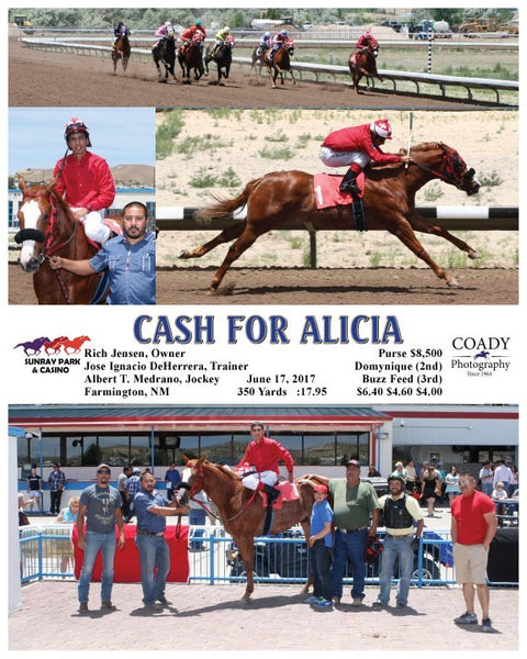 CASH FOR ALICIA - 061717 - Race 01 - SRP