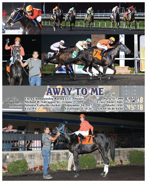 AWAY TO ME - 092417 - Race 08 - PID