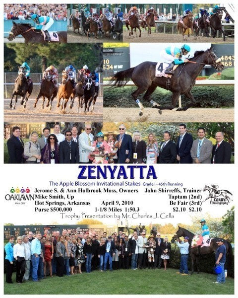 ZENYATTA - 2010 Apple Blossom - Composite