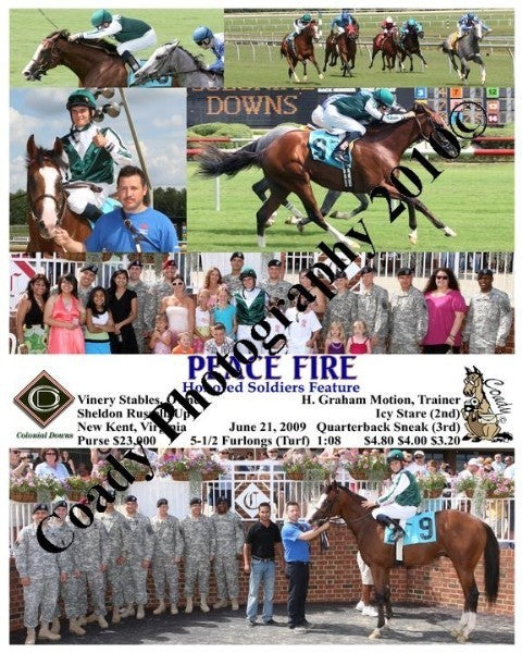 PEACE FIRE  -  Honored Soldiers  -  6 21 2009
