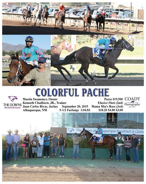 COLORFUL PACHE  - 092015 - Race 09 - ALB