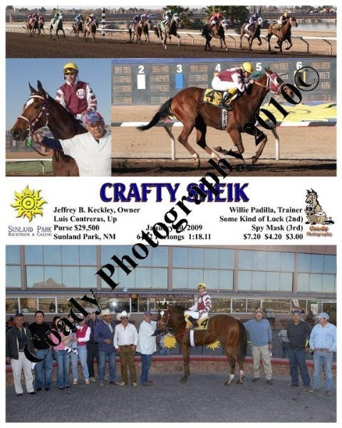 Crafty Sheik  -    -  1 30 2009
