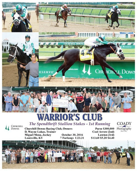 WARRIOR'S CLUB - 103016 - Race 09 - CD