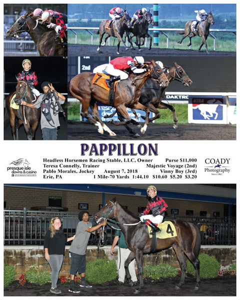 PAPPILLON - 080718 - Race 08 - PID