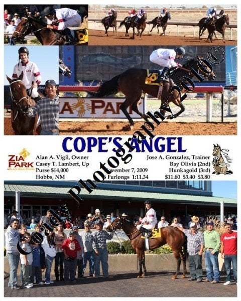COPE S ANGEL  -    -  9 18 2009