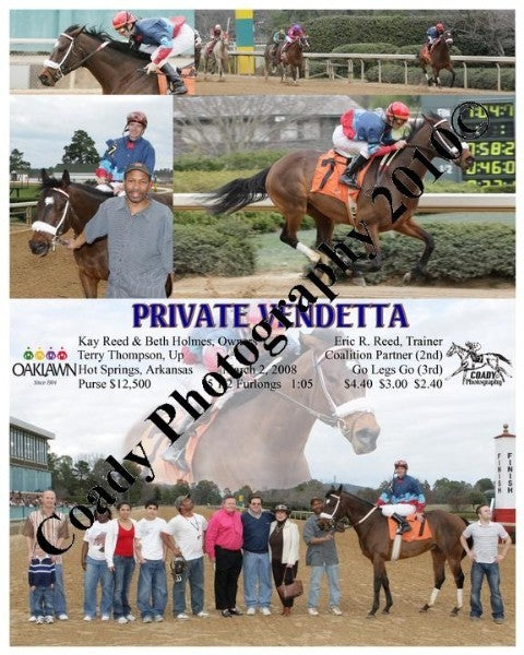 PRIVATE VENDETTA  -    -  3 2 2008
