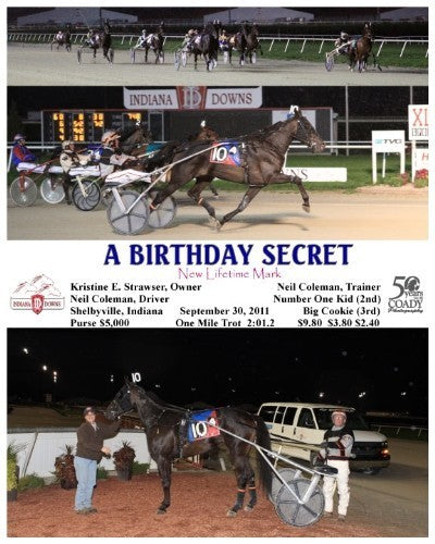 A Birthday Secret - 093011 - Race 04