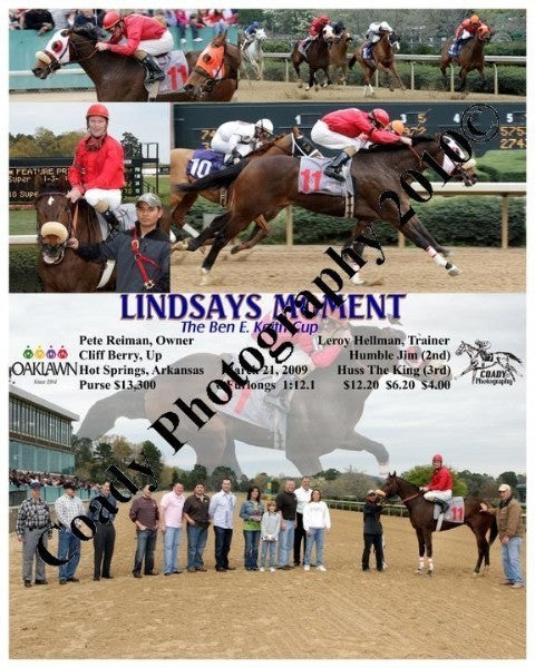 LINDSAYS MOMENT  -  The Ben E. Keith Cup  -  3 21