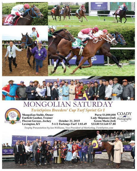 MONGOLIAN SATURDAY