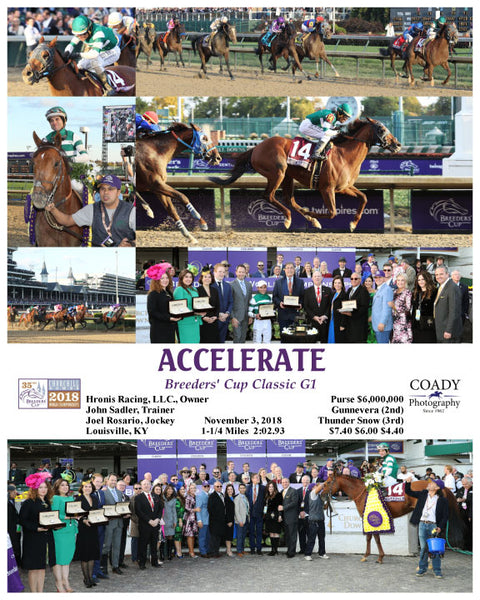 ACCELERATE - 110318 - Race 11 - CD