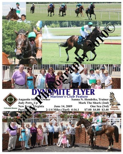 DYNAMITE FLYER  -  NGNN Mariner s Club Feature  -