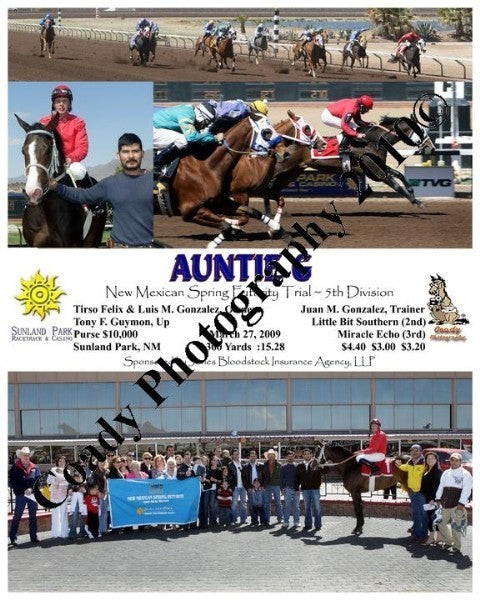 Auntie G  -  New Mexican Spring Futurity Trial ~ 5