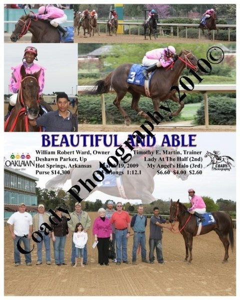 BEAUTIFUL AND ABLE  -    -  3 19 2009