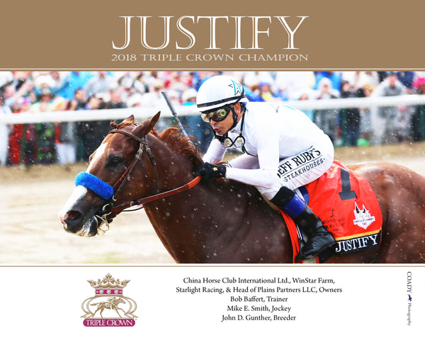 JUSTIFY - Triple Crown Champion