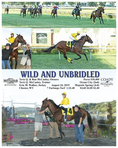 WILD AND UNBRIDLED - 082415 - Race 01 - MNR