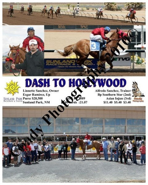 Dash to Hollywood  -    -  4 12 2009