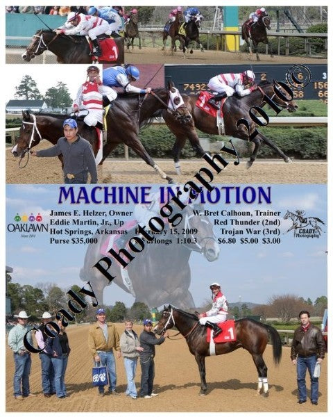MACHINE IN MOTION  -    -  2 15 2009