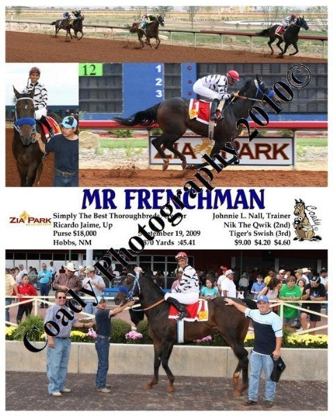 MR FRENCHMAN  -    -  9 19 2009