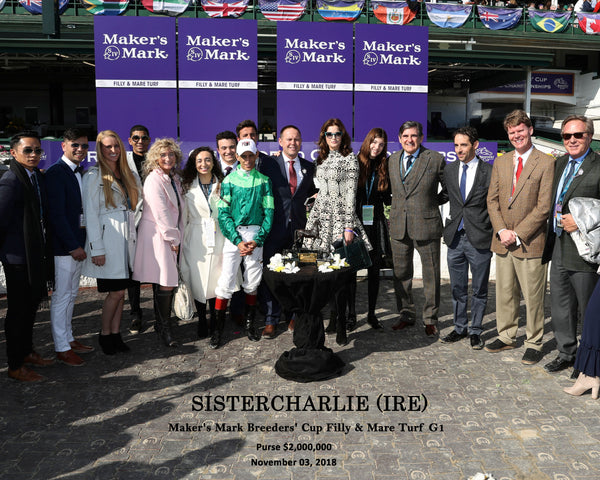 SISTERCHARLIE (IRE) - Maker's Mark Breeders' Cup Filly & Mare Turf G1 - 11-03-18 - R06 - CD - Presentation 01 W Ident